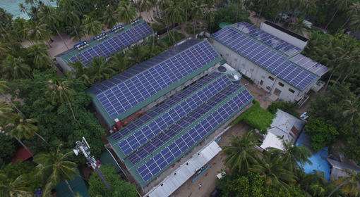 Malahini resort (Maldives) PV + ESS installation and commercial operation